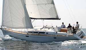 scuola vela barca Jeanneau 45