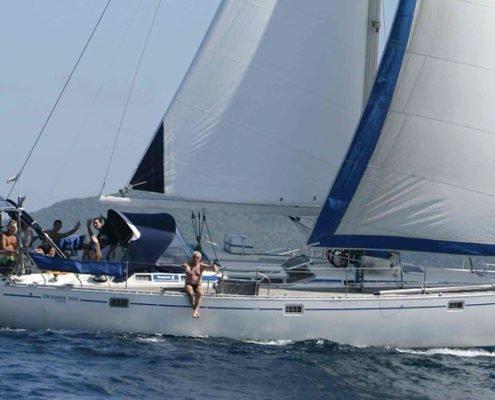 scuola vela barca beneteau 50